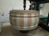 Fabricação de madeira de Djembe do cilindro & maquinaria do processamento