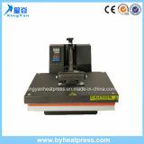 Máquina lisa da imprensa do calor da impressão da camisa de T