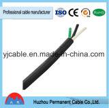 Câble en nylon de la gaine 2*14AWG Tsj d'isolation normale de PVC d'UL