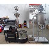 tostador de café del calor del gas de la máquina de la asación del tostador de café 60-65kg