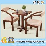 Insieme della mobilia di zona pranzante di legno solido dell'albergo di lusso