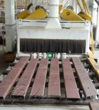 Máquina de sopro do tiro da placa de aço