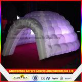 de Opblaasbare Lichte Tent van 5m voor Partij, de Witte Opblaasbare Tent van de Koepel die voor Gebeurtenis wordt gebruikt