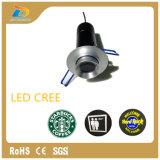 Luces ahuecadas 10W del proyector de la flecha del Gobo de la insignia del LED mini