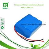 18650 paquete de la batería del Li-ion de 22.2V 2200mAh para la vespa