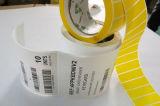 Contrassegno autoadesivo del PVC dell'autoadesivo adesivo di carta di Pirnted (Z033)