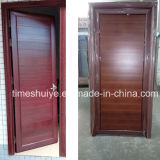 Puerta de aluminio fuerte y resistente del cuarto de baño de la puerta del marco