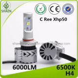 Farol do diodo emissor de luz do carro do brilho elevado H4 60W 6000lm G8