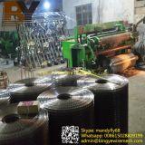Engranzamento de fio soldado galvanizado revestido PVC do aço inoxidável