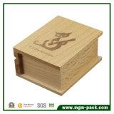 Venta al por mayor Personalizadas libro en forma de caja de música de madera