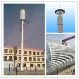 無線タワーの単一管の通信塔