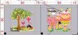 Calor Transfer Film com Carton Picture