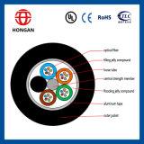 La base al aire libre G Y F T del cable óptico 8 de fibra de la comunicación hizo en China