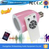 De slimme LEIDENE van Bluetooth van de Producten van het Huis Spreker van de Gloeilamp met Afstandsbediening