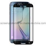 Glace 9h Tempered incurvée par 3D de plein écran pour le protecteur d'écran de bord de la galaxie S6 de Samsung