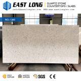 カウンタートップまたは壁パネルまたは虚栄心の上のための高級なAartificial大理石カラー水晶石の平板