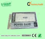banco de uma potência de 25000 mAh com bateria de Samsung