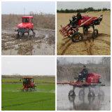Pulverizador do crescimento da maquinaria agricultural da potência do TGV do tipo 4WD de Aidi para o campo e a terra enlameados