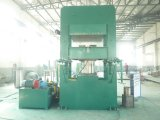 Tipo de goma automático vulcanizador del marco o de la columna de la placa
