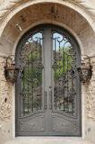 装飾的な手作りされた錬鉄の表玄関
