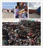 Vêtements utilisés dans la balle pour le marché de l'Afrique