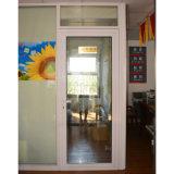 Дверь Kz037 Casement белого порошка цвета Coated алюминиевая
