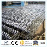 Panneau de clôture en treillis métallique soudé rigide en usine