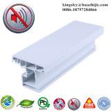 profil en plastique de PVC de guichet de tissu pour rideaux de PVC de 60mm pour le guichet