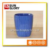 Голубой керамический Flowerpot Gyp068