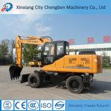 最も低い掘削機の価格の販売のための小さい車輪の掘削機