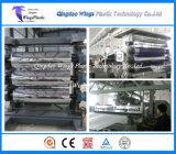 Ligne d'extrusion de feuille/feuille en plastique du HDPE pp picoseconde faisant la machine