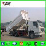 기계적인 Sinotruck HOWO 모래 수송을%s 25 톤 팁 주는 사람 덤프 트럭