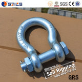 높은 Tensile Steel Anchor Bow Bolt 및 Nut G2130 Shackles