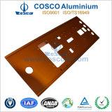 Profil en aluminium de panneau avant pour l'électronique