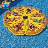 Aufblasbare Pizza-Flamingo-Schaumgummiring-Schwäne schwimmt, schwimmt Stock, schwimmt Pool