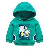 유기 면 아기 Hoodie 형식 아이의 Hoodie 스웨터 스웨트 셔츠