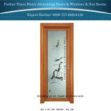 Aluminiuminnenbadezimmer-Türen für Badezimmer-Dekoration