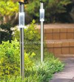 Lumière solaire d'acier inoxydable