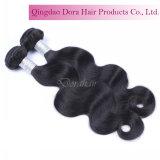 Le cheveu de tissage de prix usine empaquette la trame 100% malaisienne de cheveu de Vierge ondulée