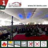 1500명의 사람들 옥외 교회 천막