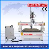Ele-1325 2spindles 3D木製に切り分けることのための木製CNCの切断の機械装置