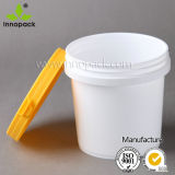1L Plastic Bucket para Paint, Water, Flour, Washing Powder Ect