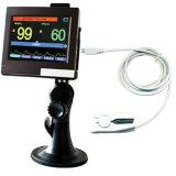 Монитор оксиметра SpO2 ИМПа ульс экрана касания Contec, свободно карточка SD, средство программирования PC, Pm60A