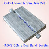 Doppelbandverstärker St-82A des 3G 4G Lte Verstärker-des Verstärker1800 signal-2100MHz
