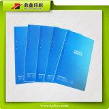 Stampa manuale di colore del cielo blu