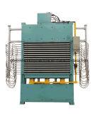 Máquina caliente de la prensa de la tarjeta de partícula de la melamina corta del ciclo de la carpintería que lamina