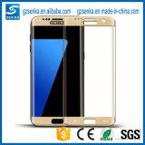 Beschermer van het Scherm van het Glas van het nieuwe Product 3D Volledige Dekking Aangemaakte voor de Rand van de Melkweg van Samsung S7