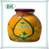 De specerij blikte de Gele Blikken van het Sap van de Perzik Echte in
