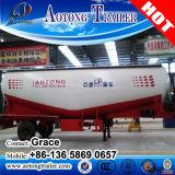 3販売(任意選択容量)のための半車軸40000L低密度カーボンバルク粉のセメントタンクトレーラー