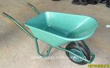 شعبيّة بلاستيكيّة صينية حديقة عربة يد مع عجلة هوائيّة